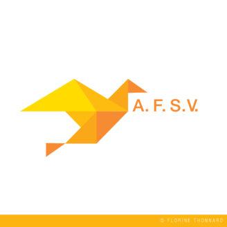 Florine Thonnard, graphiste, Liège, logo, AFSV