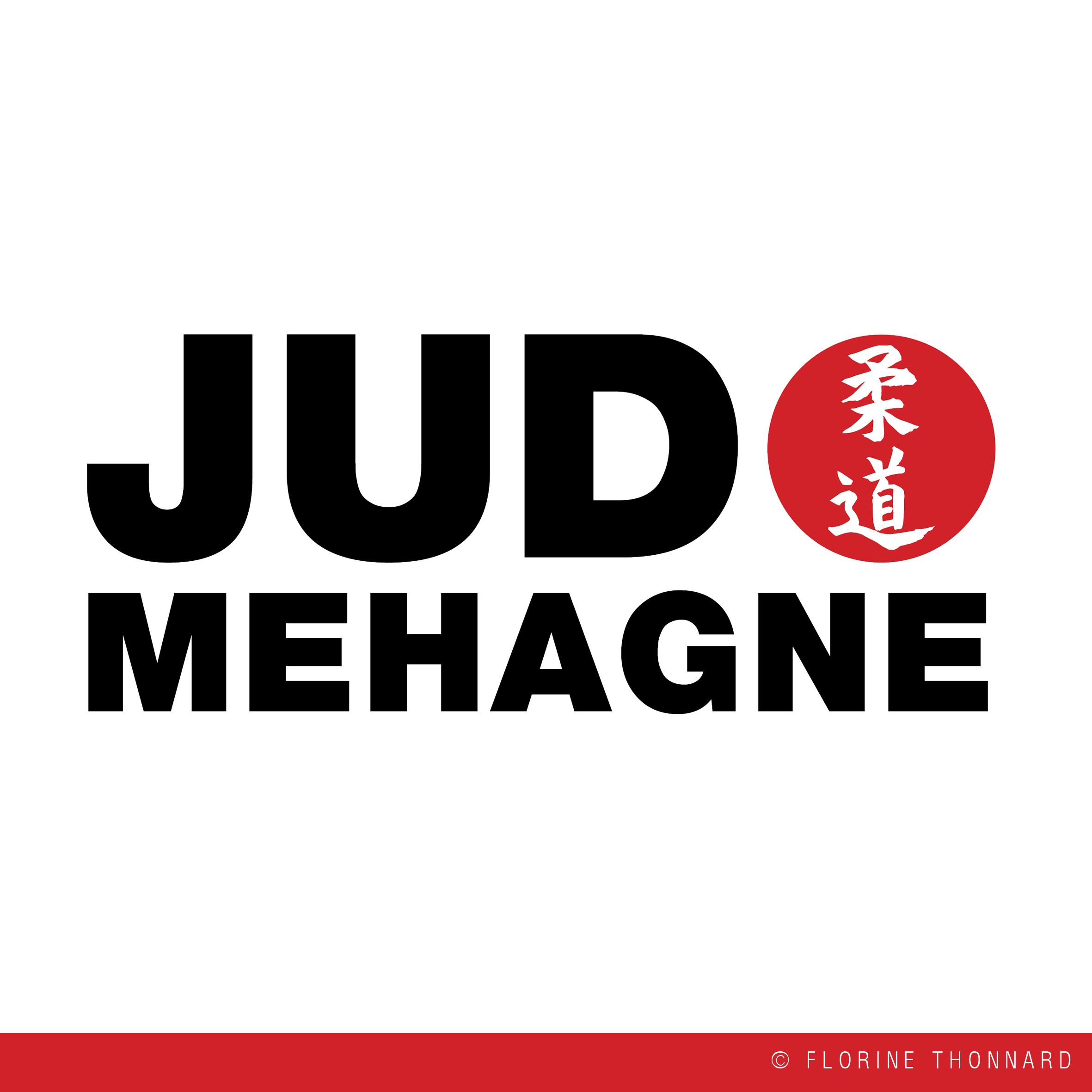 Florine Thonnard graphiste logo judo mehagne